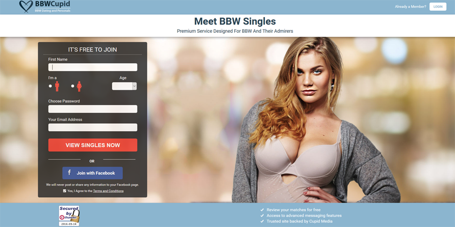 what does bbw mean on dating sites