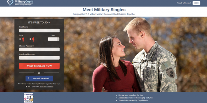 military cupid dating