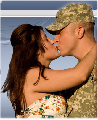 Dating army, navy, air personnel at military cupid