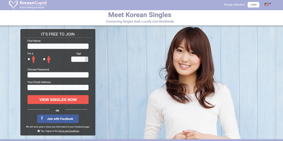 KoreanCupid – Meet and Greet Pretty Korean Singles