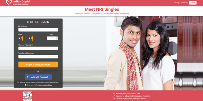 IndianCupid Creates Itself For Single NRI Indians